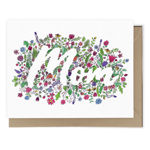 Spring Flowers for Mom Card