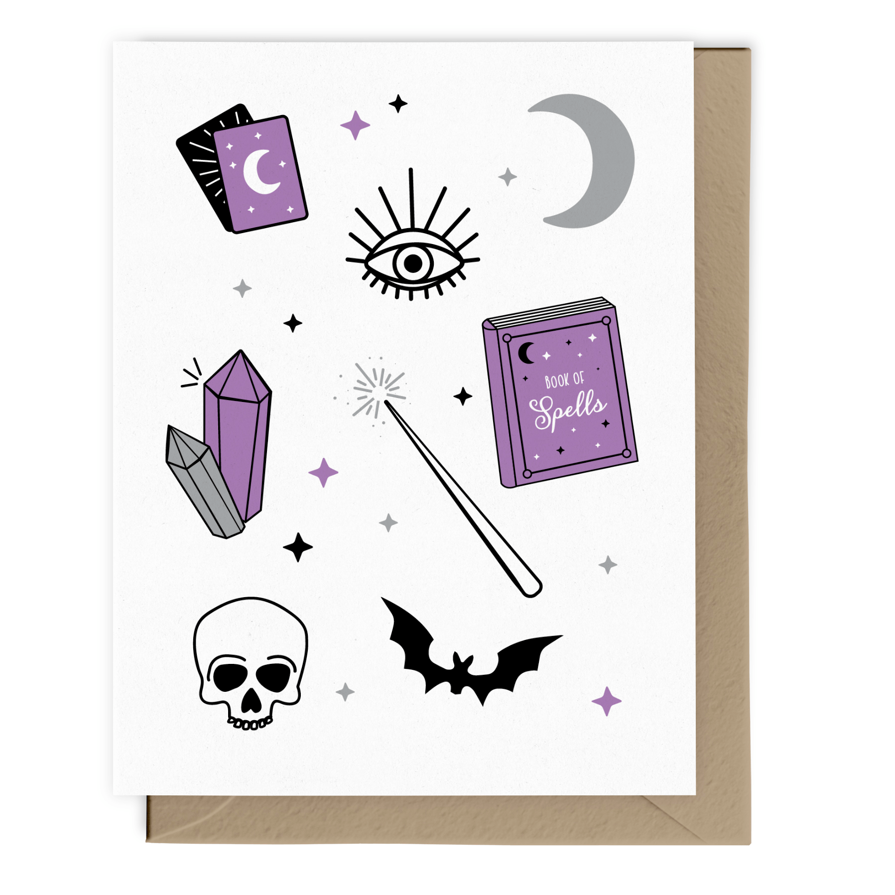 Witchy Pattern Card