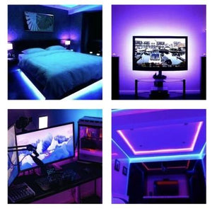 LED Strip Lights W/ Remote Control