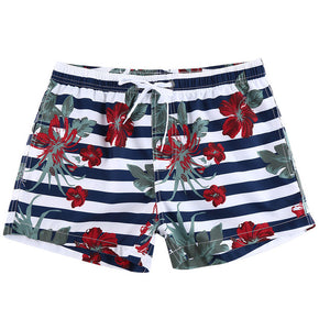 Low Rise Print Trunks