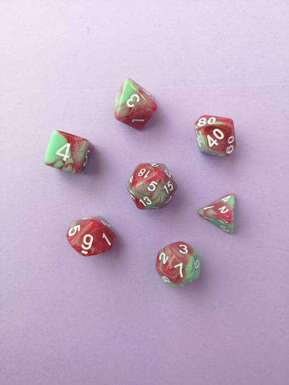 Strawberry Creme Dice