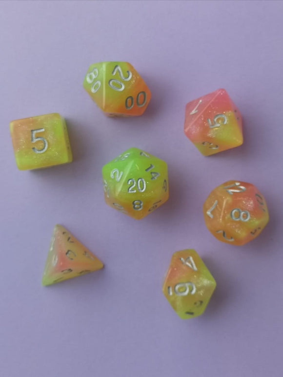 Autumn Morning Dice