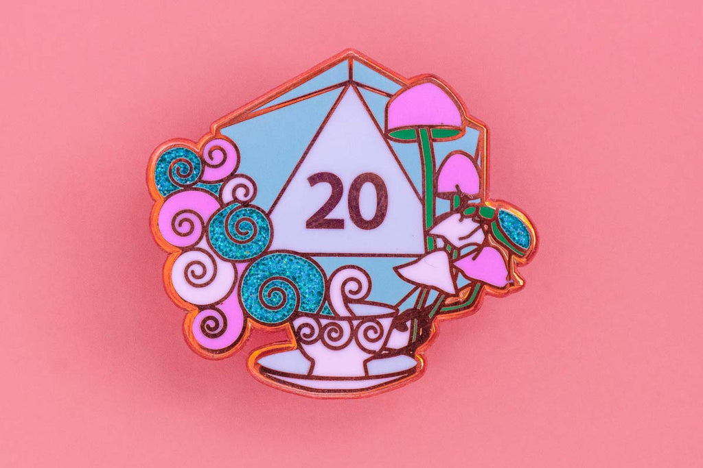 Tea Enamel Pin