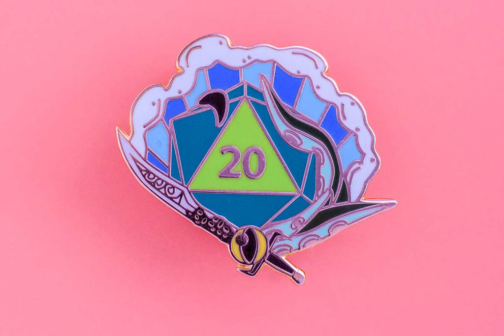 Pact Enamel Pin