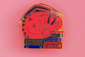 "SECONDS SALE ""Book Wyrm"""