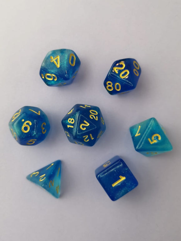 Mermaid's Scales Dice Set