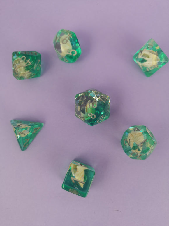 Sea Shell Dreams Dice Set