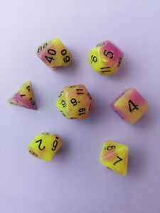 Glow in the Dark Venom Dice