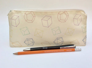 Dice pencil case