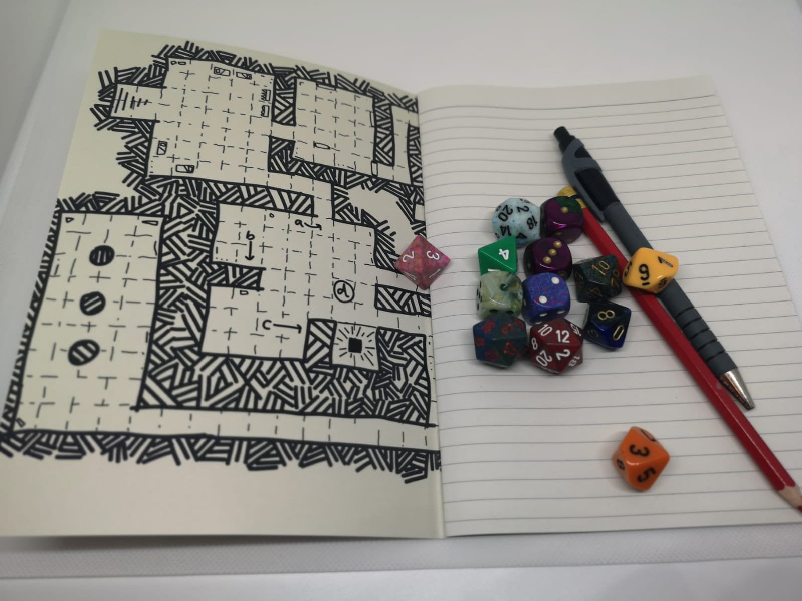 Dungeon Map Notebook