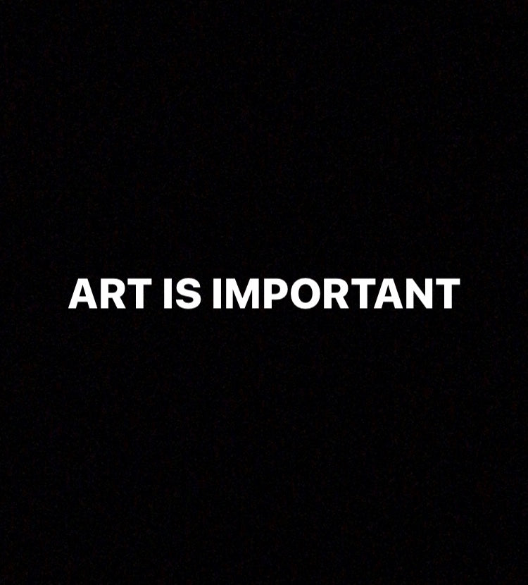 Why is Art important to us?