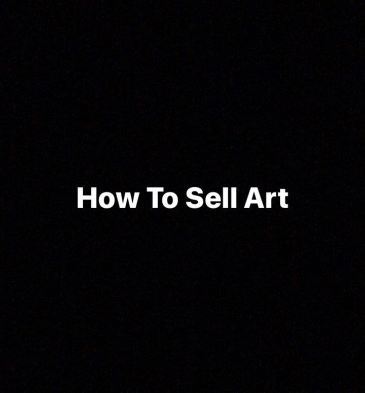 How To Sell Art Online - An Experts Guide