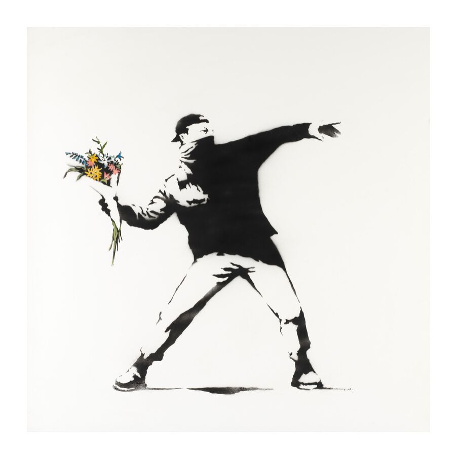Buy a Banksy with Bitcoin or Ethereum - at Sotheby's