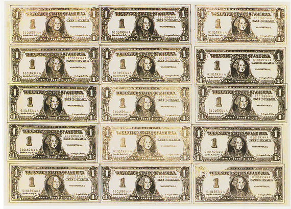 Money Art - Andy Warhol