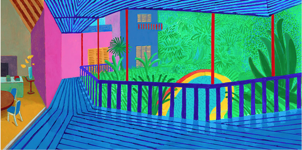 Pop Art Artists - David Hockney