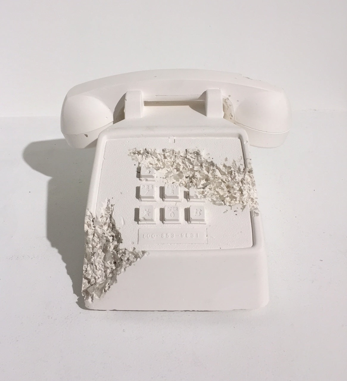 Daniel-Arsham-Telephone-Sculpture
