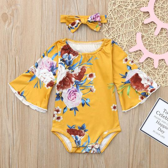 Blossom Romper and Headband