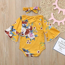 Load image into Gallery viewer, Blossom Romper and Headband