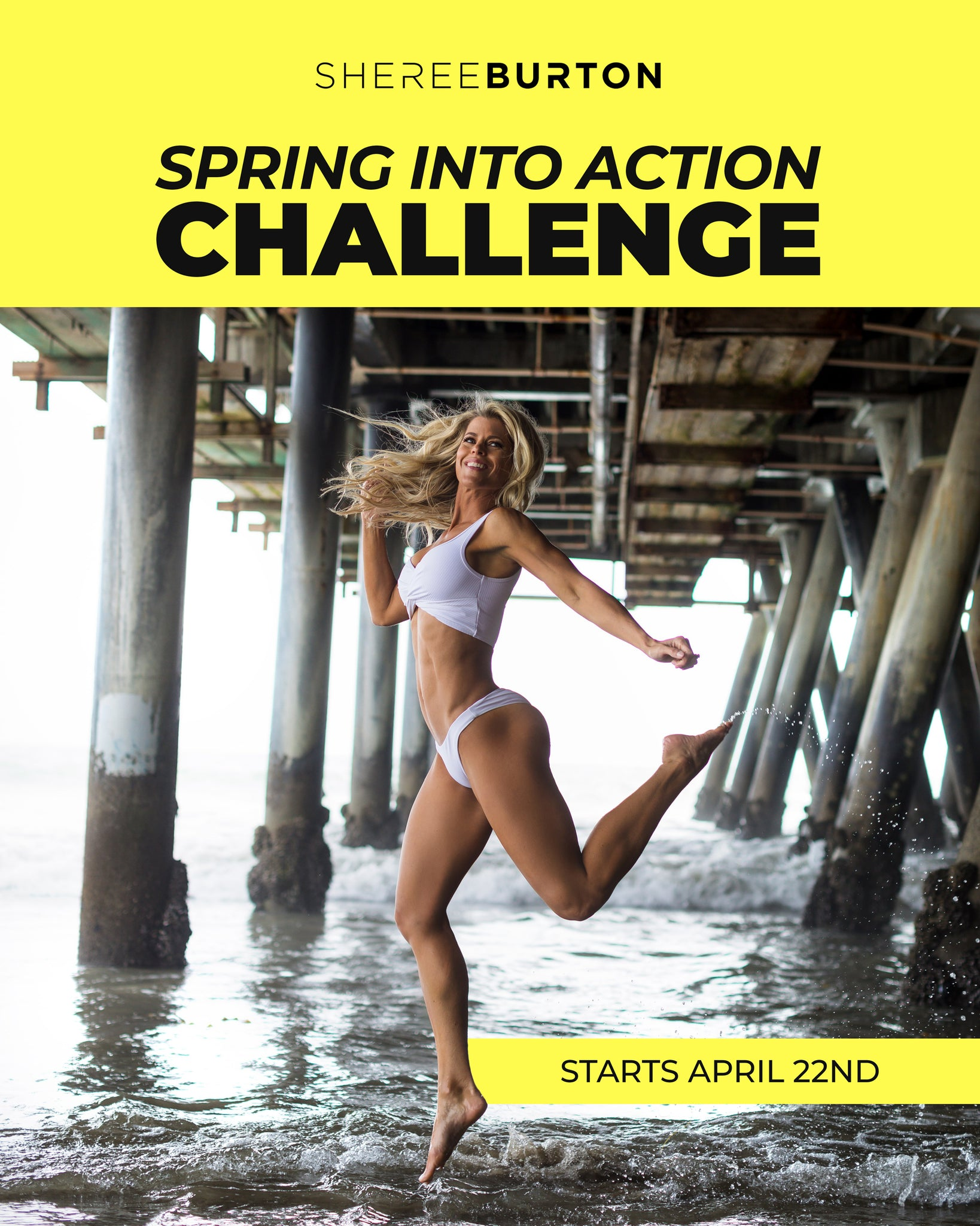 Sheree's Spring Into Action 10-Day Challenge!