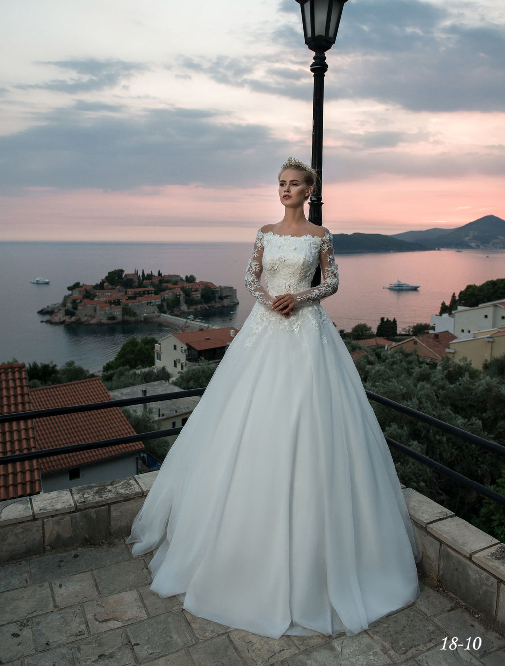 Rosy Wedding Dress