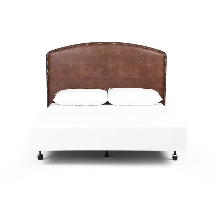 Surry King Headboard-Vintage Tobacco