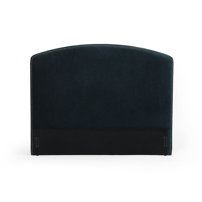 Surry Queen Headboard-Plush Navy