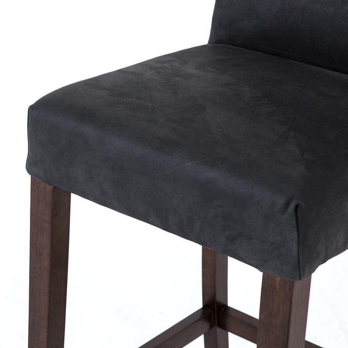 James Bar Stool-Umber Black