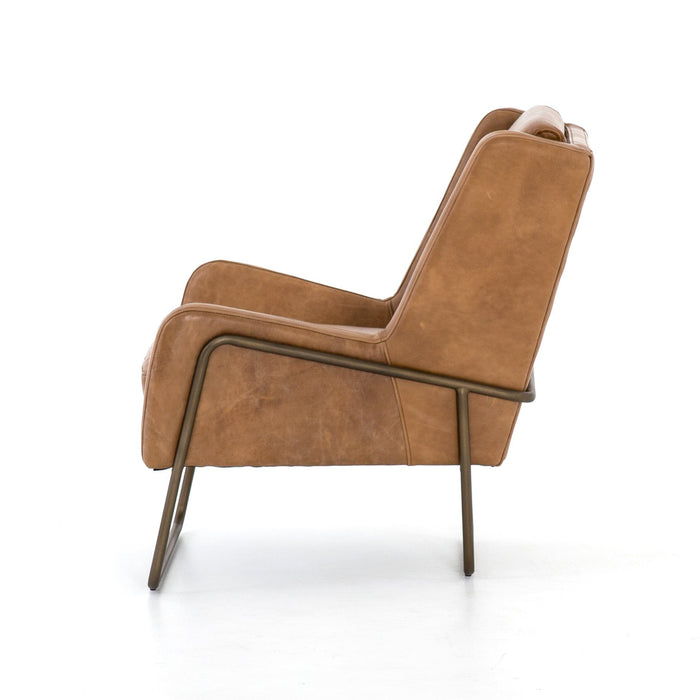 Wembley Chair-Patina Copper