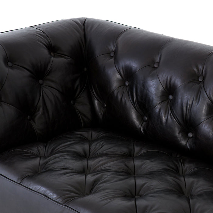 "Remington Sofa-90""-Rider Black"