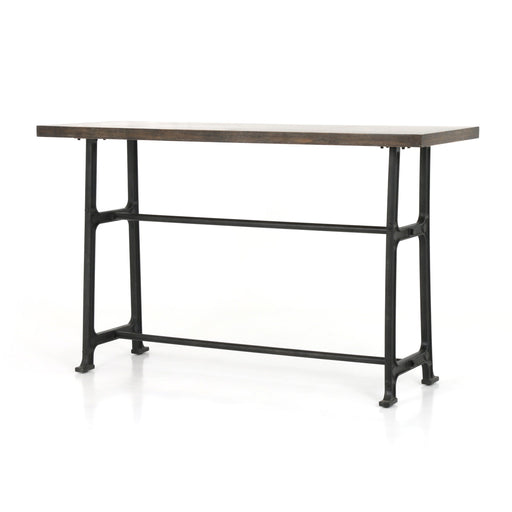 Alistair Bar Table-English Brown Oak