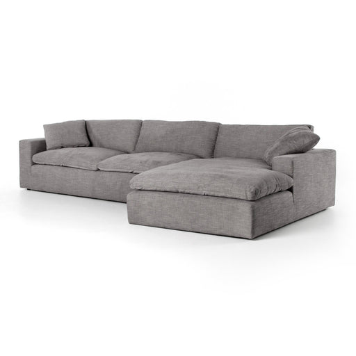 "Plume Two-Piece Sectional 136""-Harbor"