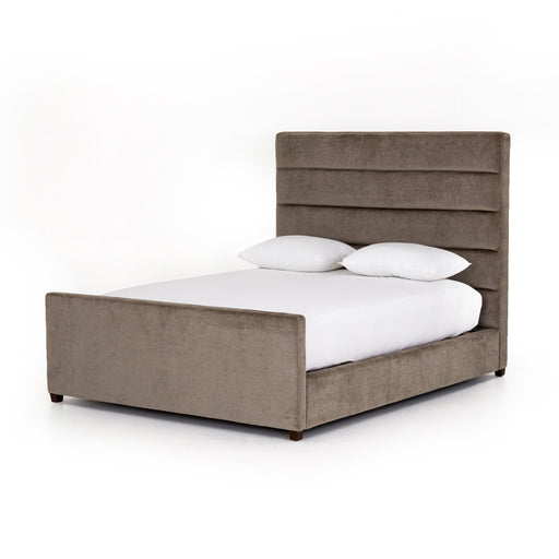 Daphne Queen Bed-Sage Worn Velvet