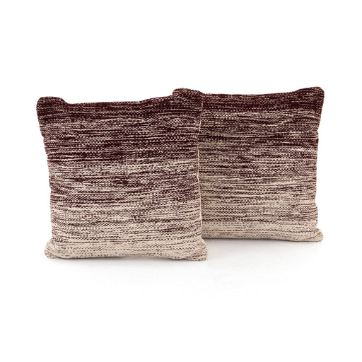 Currant Ombre Pillow, Set Of 2-20""
