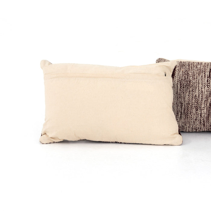 Currant Ombre Pillow, Set Of 2-16x24""