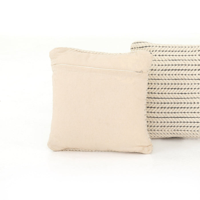 Ari Rope Weave Pillow, Set Of 2-20""