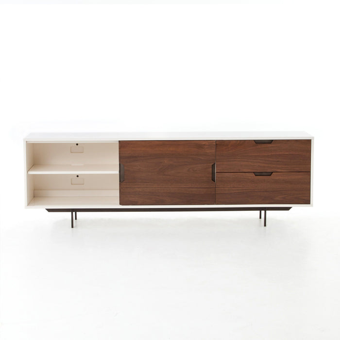 Tucker Large Media Console-White