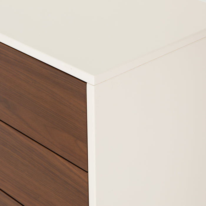 Tucker 6 Drawer Dresser-White