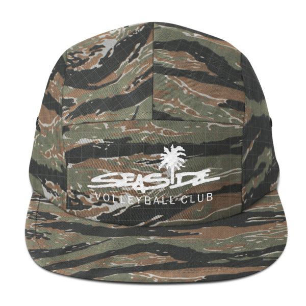 Seaside Camo Five Panel Cap