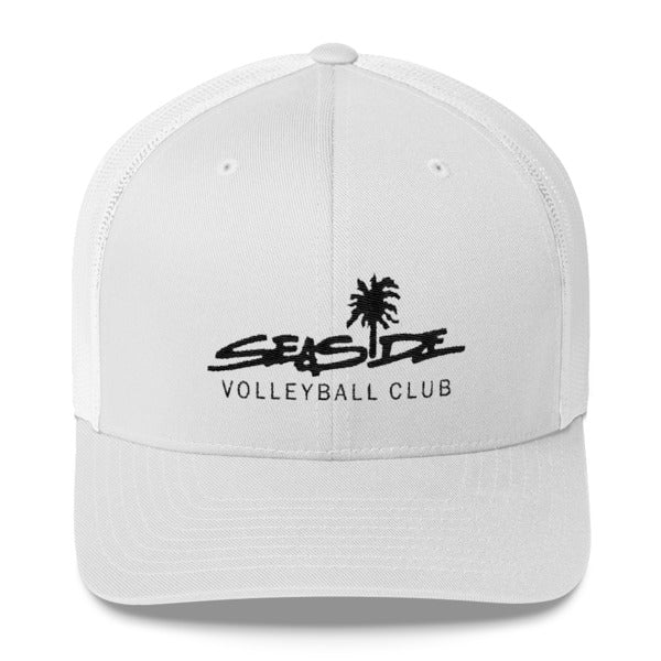 Seaside White Trucker Cap