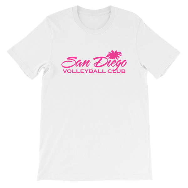 SDVBC T-shirt (Pink and White)