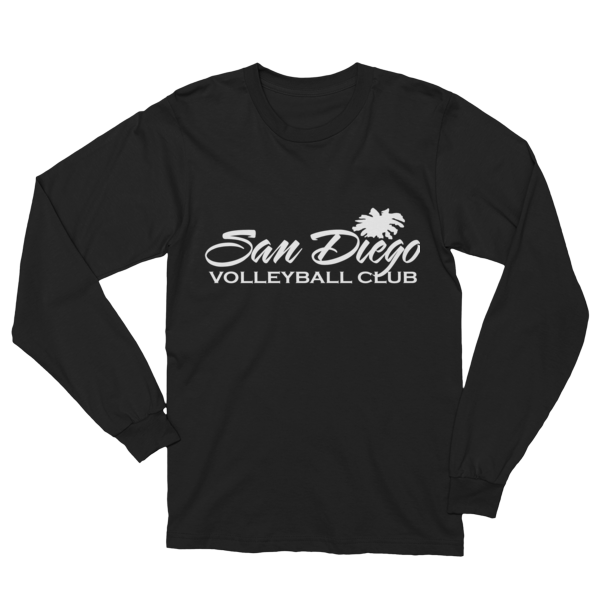SDVBC Long Sleeve T-Shirt (White and Black)