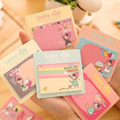 Kawaii meow 10 pcs Cartoon Memo Pad Notes