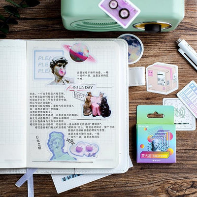 Kawaii meow 46 pcs/pack Creative Paper Sticker
