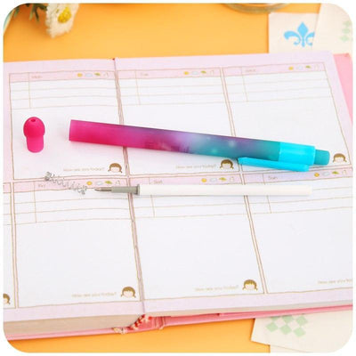 Kawaii meow 6 pcs Starry Sky Gel Pens