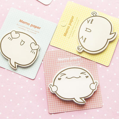 Kawaii meow 8 pcs Fun Face Sticky Note