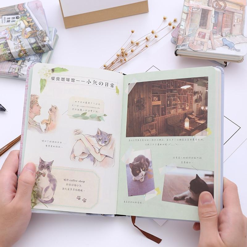 Kawaii meow A Small Notebook
