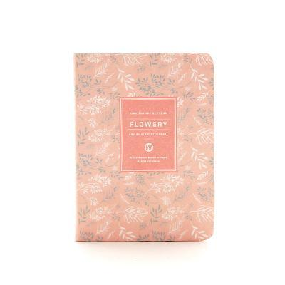 Kawaii meow A6 Light pink Floral Planner Notebook