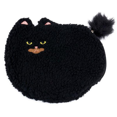 Kawaii meow black / (20cm<Max Length<30cm) Cat Design Hand Bag