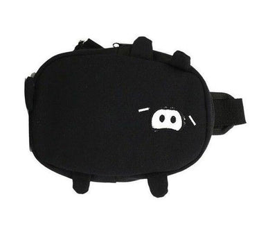 Kawaii meow black / 25cm Cute Pig Mini Bag
