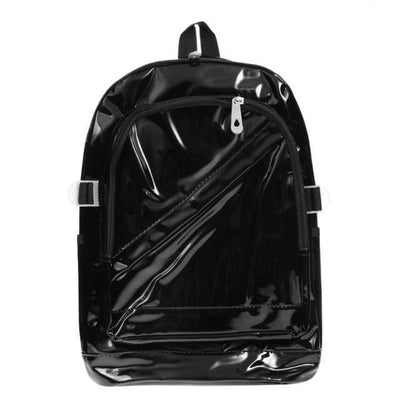 Kawaii meow Black Fashion Hologram Backpack